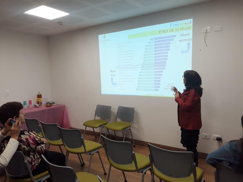 Mujeres innovando con TIC