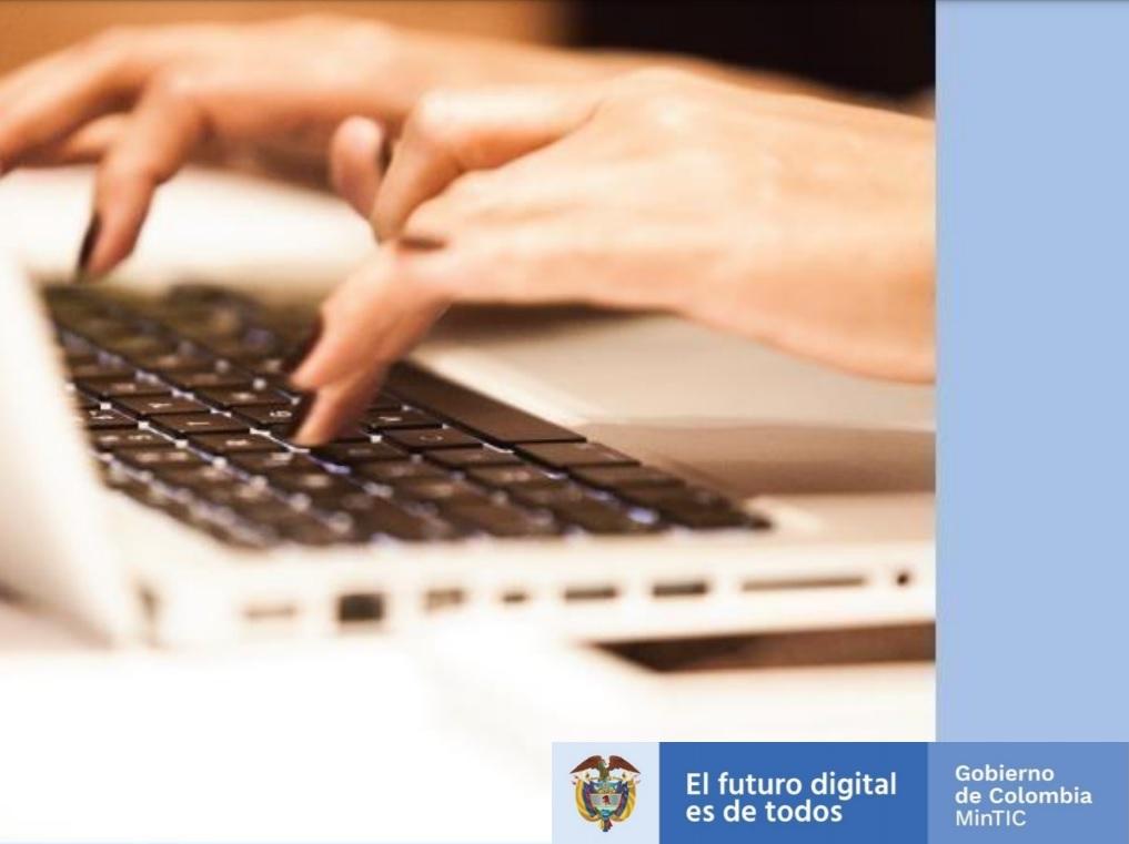 Marco de Transformación Digital del estado Colombiano
